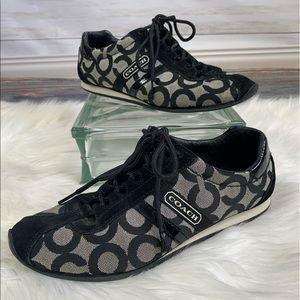 Coach Kathleen Sneakers black